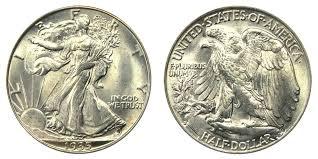 1935 Silver Half Dollar Value Chart 1935 S Walking Liberty Half Dollar Coin Value Prices Photos