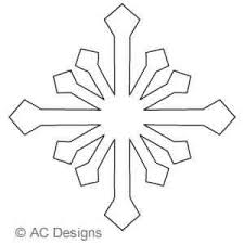 Snowflake A   AC Designs   Digitized Quilting Designs & Digital Quilting Design Snowflake A by AC Designs. Adamdwight.com
