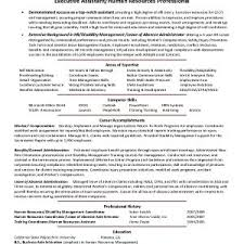 Sample Resume For Human Resources Business Partner Save Human ...