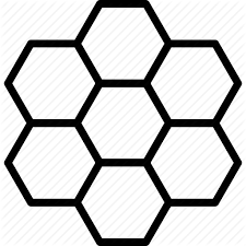 Beehive Pattern Gorgeous Cells Comb Hexagon Hexagonal Honey Honeycomb Pattern Icon