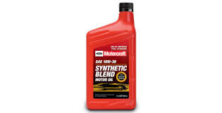 Synthetic Blend Oil Comparison Chart Usa Motorcraft