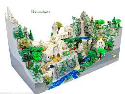 the attention to detail in this lego brick rivendell is their flickr page is packed additional high resolution photos so if you d like to see this excellent recreation from other angles head on over