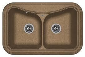 Врезная <b>кухонная мойка FLORENTINA Крит</b>-780A FG 78х51см ...