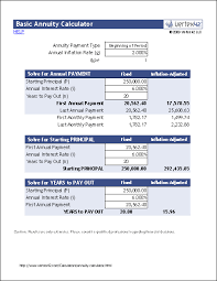 Excel Retirement Calculator Spreadsheet Free Annuity Calculator For Excel Retirement Annuity Calculator