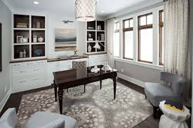 elegant home office room decor. Room Contemporary And Elegant Home Office Ideas Neutral Color Decor F