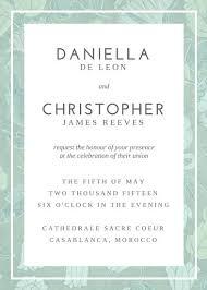 Wedding Invitation Layout Wedding Invite Layout Demireagdiffusion