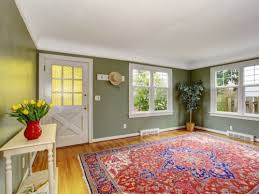 rugs can be used to section off diffe parts of a multi use room such as a living dining area a rug under the dining table and chairs will clearly mark