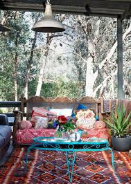 Outdoor: Boho Chic Porch Design - Bohemian Outdoor