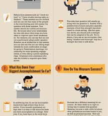 How To Answer Job Interview Questions Top 10 Job Interview Questions With Answers Infographic