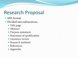 Research Paper Proposal Example Apa Format 2018 Essay Purchase