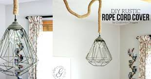 large size of white cord cover chandelier rustic lights using rope by black silk in minutes
