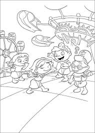 Small Picture 17 best Little Einsteins Coloring Pages images on Pinterest 3rd