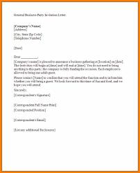 Celebration Letter 24 Celebration Invitation Letter Weekly Template 6