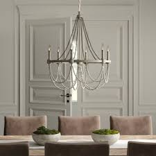 alliance 6 light candle style chandelier