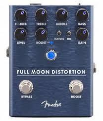 <b>Fender Full</b> Moon Distortion Pedal купить в Музторге по выгодной ...