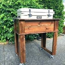 outdoor rolling tv stands cooler cart yeti
