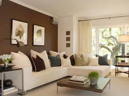 paint color ideas living room walls brown color contrast wall home decoration colour paint homes design