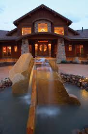 Modern Craftsman Style Homes Boothbay Bluff Luxury Home House Country Houses And Driveways