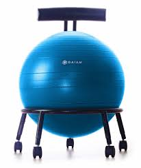 yoga ball desk chair 5 great reasons to replace your office chair with a yoga ball