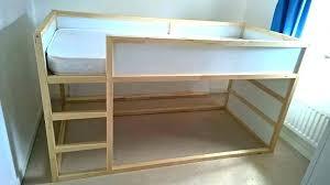 loft bed frame bunk appealing mattress ikea with desktop twin plans full size