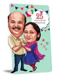 wedding anniversary gifts for pas 25th design pictures
