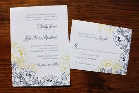 navy blue, yellow & white peony wedding invitations emdotzee designs Wedding Invitations Navy And Yellow navy blue, yellow & white peony wedding invitations navy blue and yellow wedding invitations