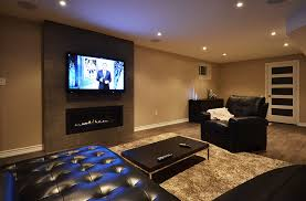 basement home theater room. finished basement home theatre room, tv surround sound theater room