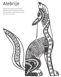 Small Picture Winsome Design Coyote Animal Coloring Pages Coyote Coloring Page