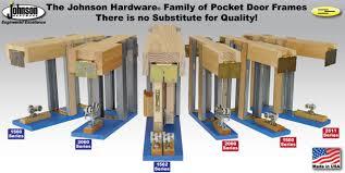 Pocket Door Retrofit Johnsonhardwarecom Sliding Folding Pocket Door Hardware Johnson