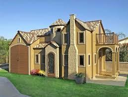 luxury playhouse ca kitset wooden nz