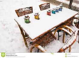 topdeq office furniture. Color Lamps On Street Cafe Table At Snow Winter Topdeq Office Furniture