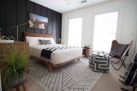 Cool teen boys bedroom makeover Modern Black And White Bedroom Southern Revivals Teen Boy Bedroom Makeover Reveal Orc Week 6 Southern Revivals