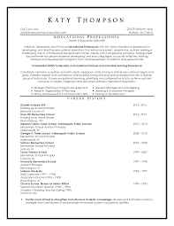 Sample Education Resume Top Resume Samples Executive Format Resumes by New York Resume 75