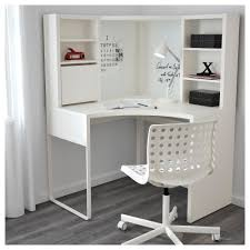 ... Desk, Captivating Ikea Corner Desks Desk Ikea White Wooden Desk With  Shelves Lamp Tools Books ...