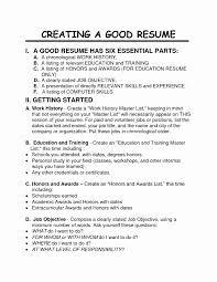 Format For A Good Resume Nmdnconference Com Example Resume And