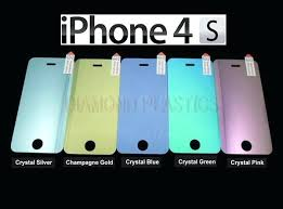 tempered glass mirror iphone 6 rose gold color screen protector 0 3 4 diamond plastic