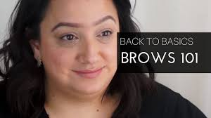 natural brows tutorial hi thanks for joining us considering i have black hair you would think i have thick brows sike