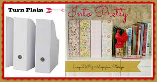 Pretty Magazine Holders Gorgeous DIY Pretty Magazine Storage Boxes Pinterest Magazine Holders