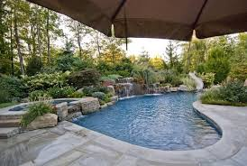 pool patio designs with inground porch design ideas