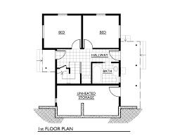 Cottage Style House Plan  2 Beds 100 Baths 1000 SqFt Plan 8903House Palns