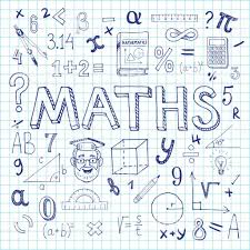 Maths Cover Design Maths Hand Drawn Vector Illustration With Doodle