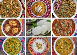 an indian dinner party menu