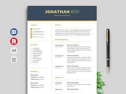 Creative Resume Templates Free Word 001 Simple Creative Cv Templates Free Download Gain Resume
