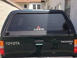 Leer Camper Shell Brake Light Replacement 1st Gen Leer Camper Shell For Sale Los Angeles