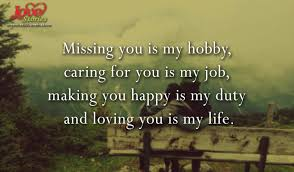 Miss You And Love You Quotes Fascinating Love Quote On Missing You Love Stories