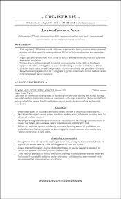 Lpn Nursing Resume Examples Resume Templates