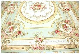french provincial area rugs for pastel blue ivory pink rug free ship shabby rose chic