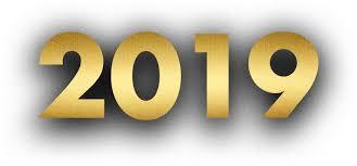 Modern Fashion 2019 New Year WordArt Element Vector, Clipart, PSD ...