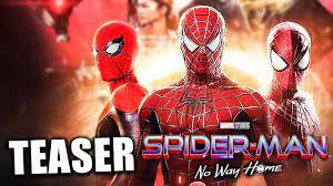 SPIDER-MAN 3: NO WAY HOME TEASER ...