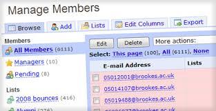 Free Membership Software Membership Database And Online Group